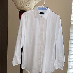 Nautica Men's Button-down Dress Shirt